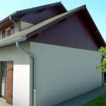 Vue perspective pour permis de construire pour rénovation de maison ou batiment